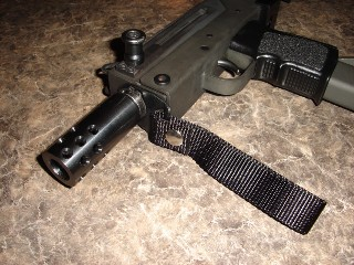 MAC 10 with strap