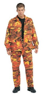 orange battle dress uniform