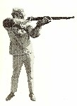 M14 firing stance with sling