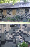 Camouflage Pattern Paint House