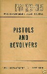 FM 23 35 combat with pistols and revolvers cover