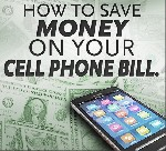 Save money on your cell phone bill