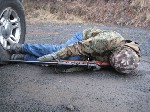prone side shooting position